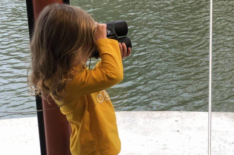 Girl with Binoculars Cropped